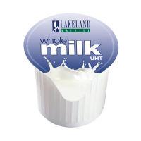 Lakeland Full Fat Milk Pots - 120 Pack