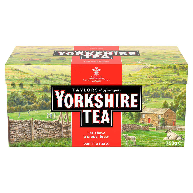 Yorkshire Tea Bags (Pack of 240) 1034