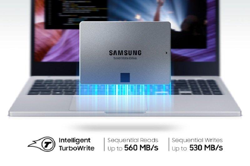 EXDISPLAY Samsung 870 QVO SATA III 2.5 inch 1TB SSD