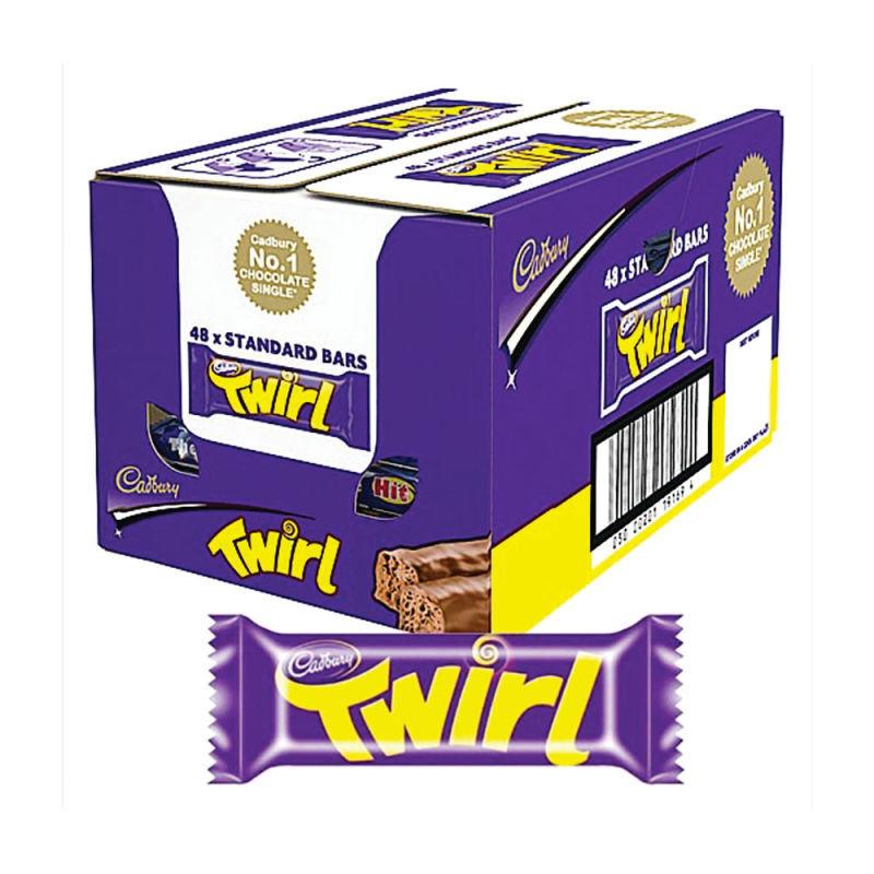 Cadbury Twirl 43g (Pack of 48) 611498