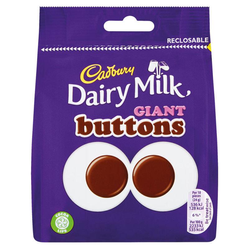 Cadbury Giant Buttons Share Bag 95g Each 4240133