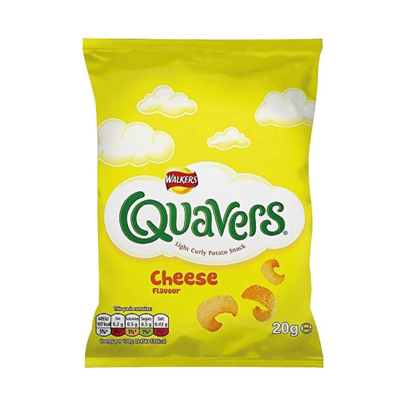 Walkers Quavers 20g (Pack of 32) 122007