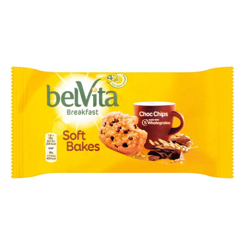 Belvita Soft Bakes Breakfast Biscuit 50g (Pack of 20) 4248176