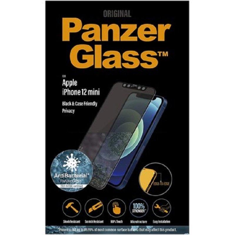 PanzerGlass iPhone 12 Mini Black - Dual Privacy