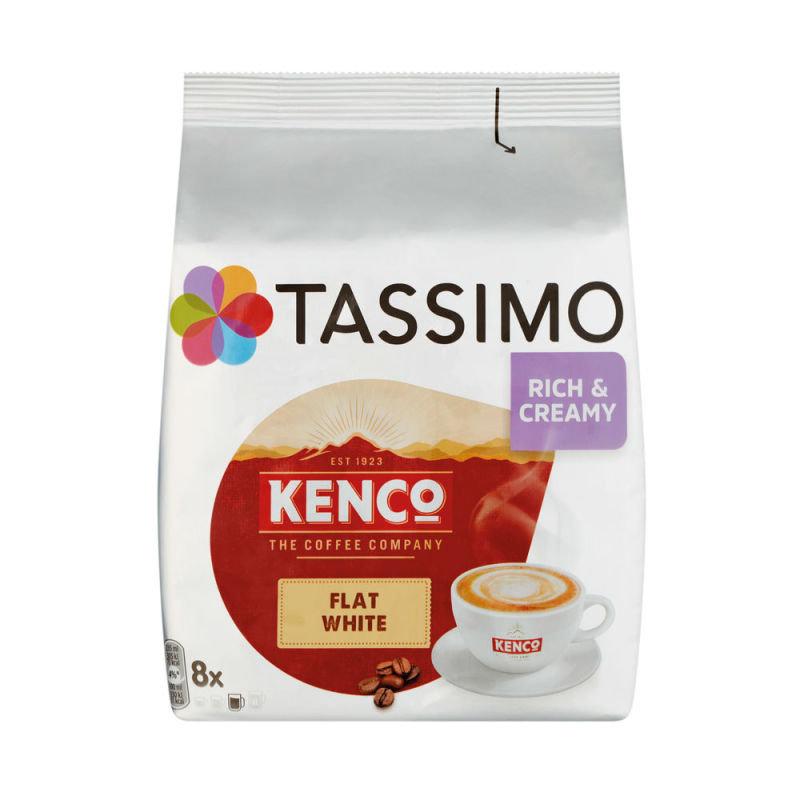 Tassimo Kenco Flat White Pods (8 Pack) 4051498