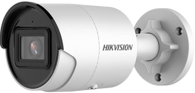 Hikvision 4MP Acusense Strobe Light and Audible Warning Fixed Bullet Network Camera - 4.0mm Lens