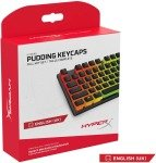 HyperX Pudding Keycaps - Full Key Set - ABS - OEM Profile