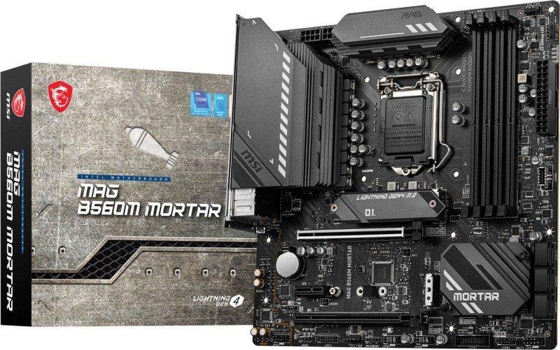MSI MAG B560M MORTAR mATX Motherboard