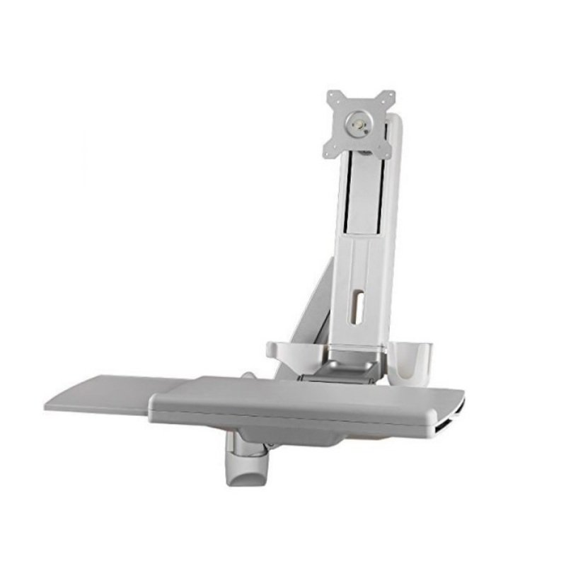 Amer Sit Stand Combo Workstation - Wall Mount