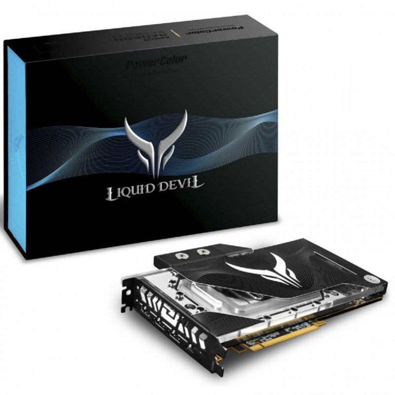 PowerColor RX 6800 XT 16GB Liquid Devil Graphics Card