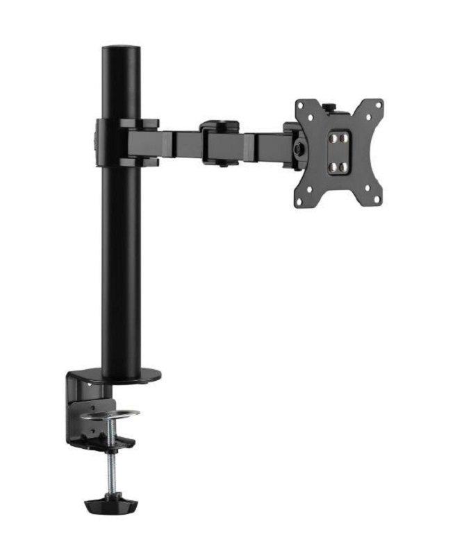 EXDISPLAY Xenta Single Steel Swivel and Height Adjustable Monitor Arm