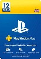 PlayStation Plus: 12 Month Membership | PS5/PS4/PS3 | PSN Download Code - UK account