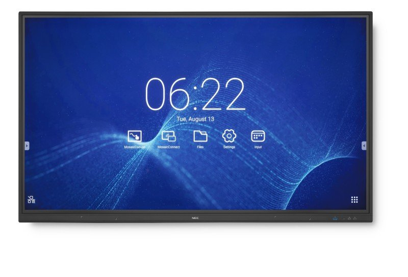 NEC 60004822 - 65'' MultiSync CB651Q LED 4K Ultra HD Touchscreen Interactive Display
