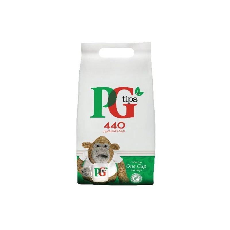 PG Tips Pyramid Tea Bags - 440 Pack