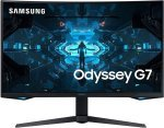 """EXDISPLAY Samsung Odyssey G7 27"""" QLED 240Hz G-SYNC Gaming Monitor With 1000R Curved Screen"""