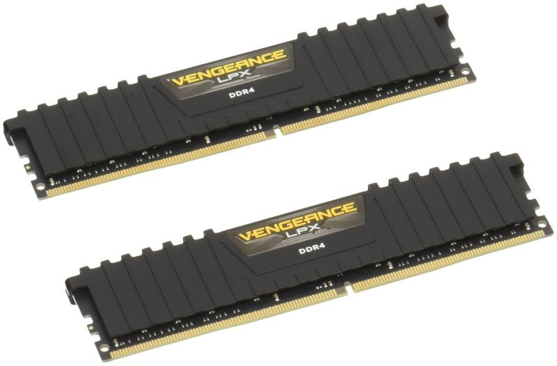 Corsair Vengeance LPX Black 32GB DDR4 (2x16GB) 2133MHz Memory Kit