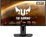 "ASUS TUF VG27BQ 27"" QHD 165Hz 1ms Gaming Monitor"