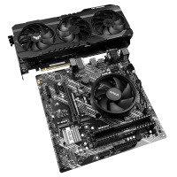 AlphaSync AMD Ryzen 5 5600X, 16GB RAM, RTX 3070, Microsoft Windows 10 Home Custom PC Bundle