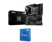 MSI Z490-A PRO ATX Motherboard and Intel Core i5 11600K 11th Gen Processor Bundle