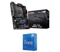 MSI MPG Z490 GAMING PLUS ATX Motherboard and Intel Core i5 11600K 11th Gen Processor Bundle