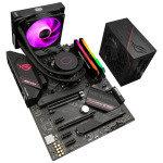 £869.99, AlphaSync AMD Ryzen 7 16GB RAM CM ML120L ROG STRIX 750W PSU Custom PC Bundle, AMD Ryzen 7 5800X 3.6GHz, ASUS ROG STRIX B550-F Gaming, 16GB Corsair Vengeance RGB PRO 3200MHz (2x8GB), ASUS ROG STRIX 750W Gold PSU, CoolerMaster MasterLiquid ML120L,