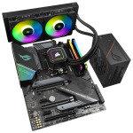 £1349.99, AlphaSync AMD Ryzen 9 32GB RAM iCUE H100i ROG STRIX 850W PSU Custom PC Bundle, AMD Ryzen 9 5950X 3.8GHz, ASUS ROG STRIX X570-F Gaming, 32GB Corsair Vengeance RGB PRO 3200MHz (2x16GB), ASUS ROG STRIX 850W Gold PSU, Corsair CAPELLIX iCUE H100i,