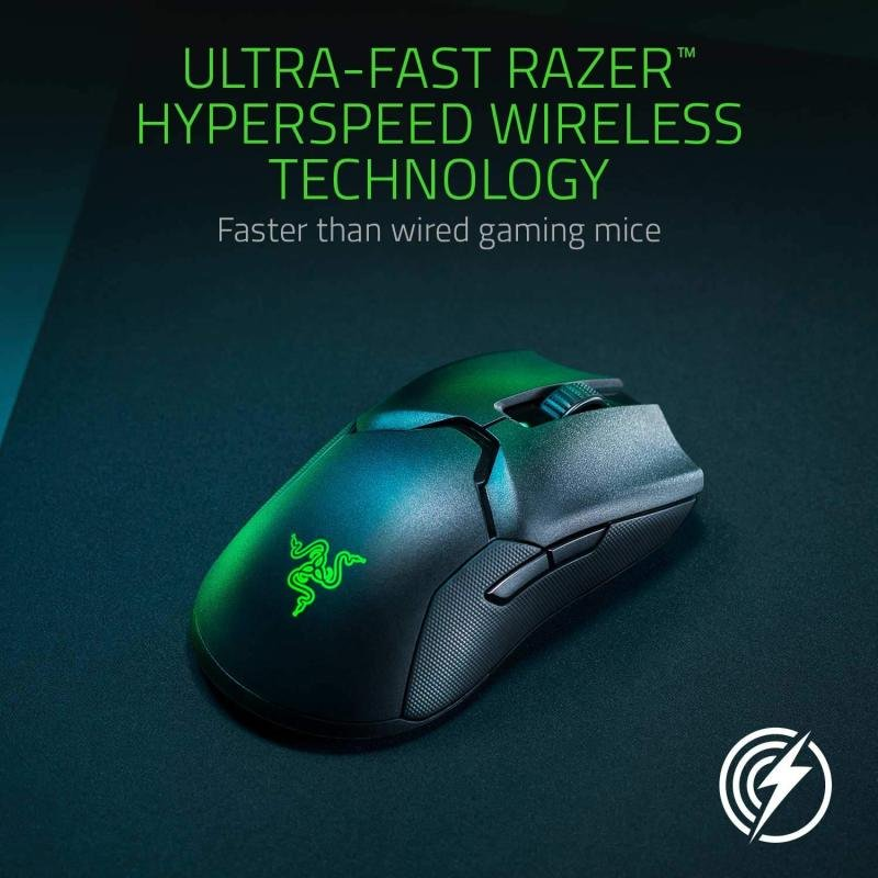 EXDISPLAY Razer Viper Ultimate - Wireless Gaming Mouse with Charging Dock