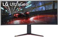 "EXDISPLAY  LG UltraGear 38GN950-B 38"" WQHD 1ms 144Hz Curver Gaming Monitor with G-SYNC"