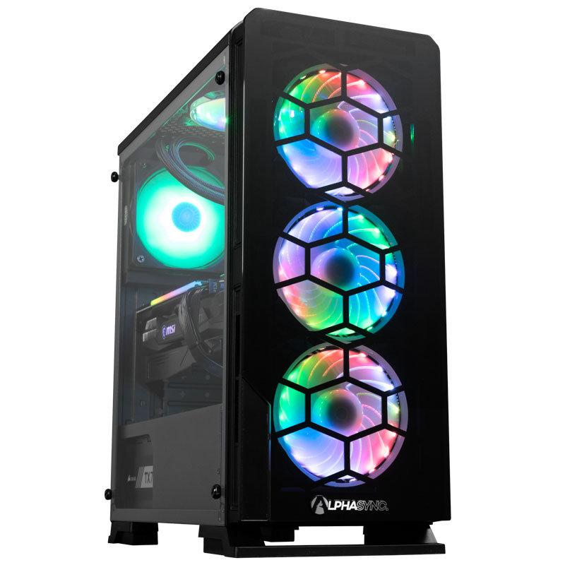 AlphaSync Diamond RTX 3070 Ti AMD Ryzen 7 16GB RAM 1TB HDD 500GB SSD Gaming Desktop PC