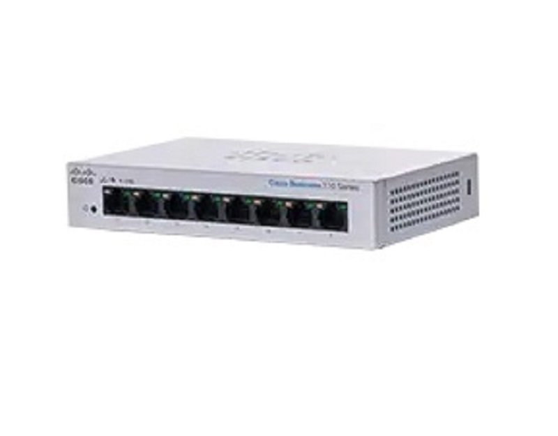 Cisco Business 110 Series 110-8T-D - Switch - 8 Ports - Unmanaged - Rack-mountable