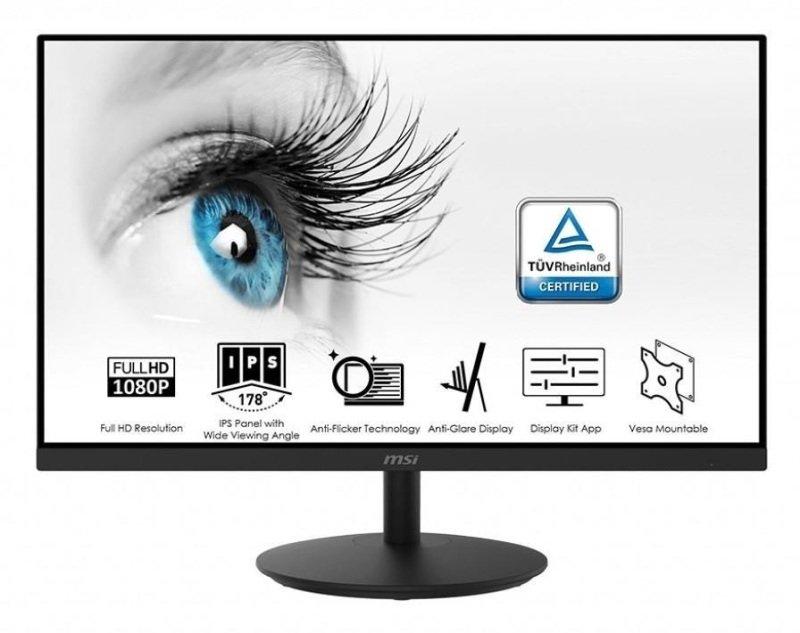MSI PRO MP242 23.8 Full HD IPS Monitor