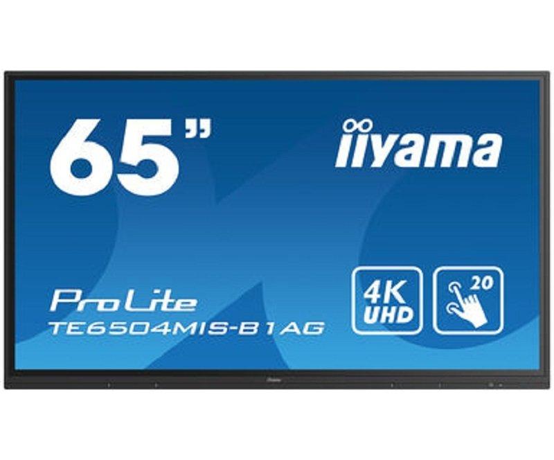 Iiyama PROLITE TE6504MIS-B1AG - 65'' Interactive Display