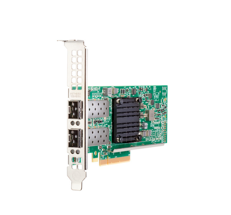 HPE 537SFP+ - Network Adapter - PCIe 3.0 x8 - 10 Gigabit SFP+ x 2