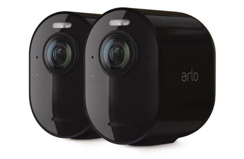 Ultra 2 Spotlight Camera (2 Pack) Black