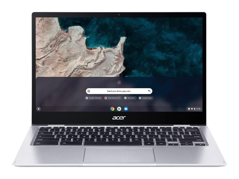 "Image of Acer Chromebook Spin 513 R841T-S3PW Qualcomm Snapdragon 7C Kryo 468 4GB RAM 64GB eMMC 13.3"" Full HD Touchscreen Chrome OS Convertible Laptop - NX.AA5EK.001"