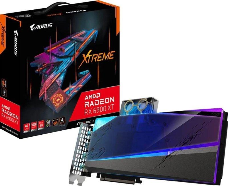 Gigabyte Radeon RX 6900 XT 16GB AORUS XTREME WATERFORCE WB Graphics Card