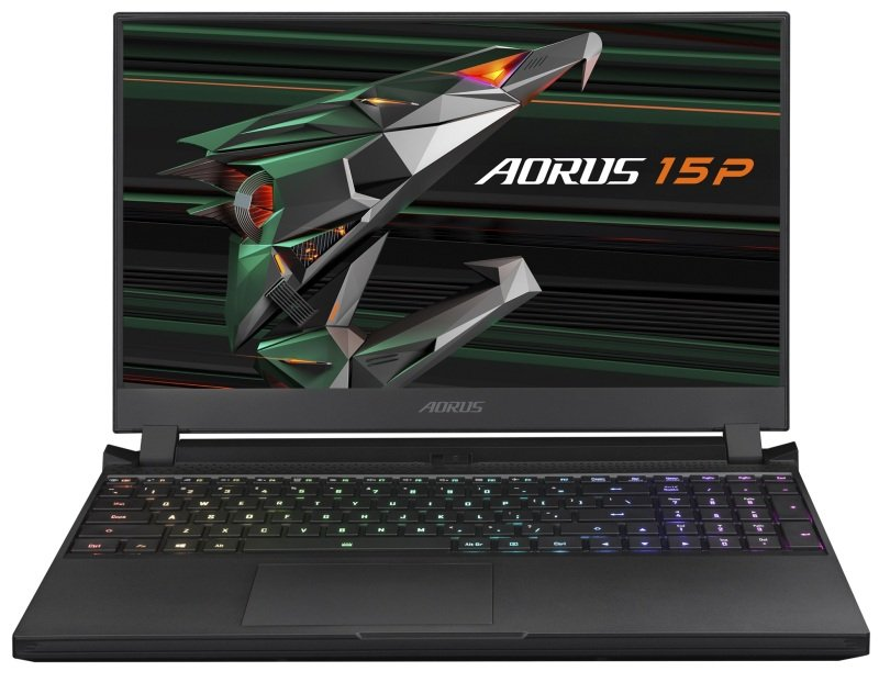 """Image of Gigabyte AORUS 15P KC Core i7 16GB 512GB SSD RTX 3060 15.6"""" FHD Win10 Home Gaming Laptop"""