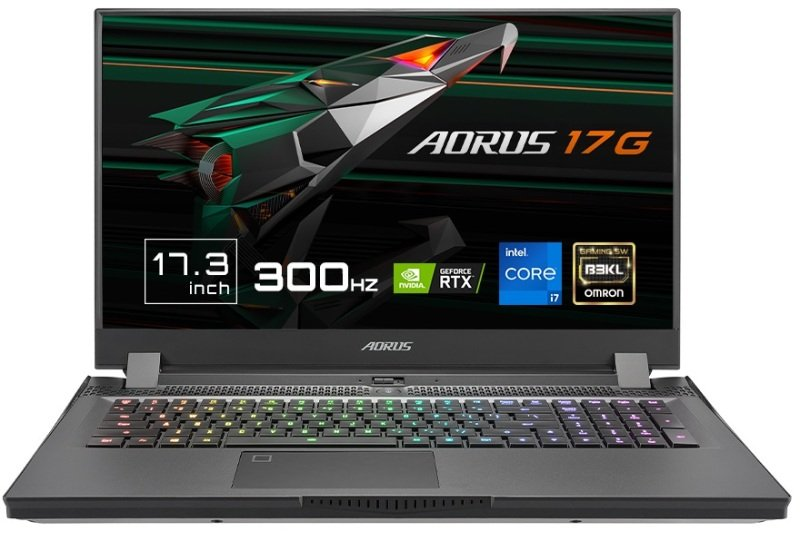 "Image of Gigabyte AORUS 17G XD Intel Core i7-11800H 32GB RAM 512GB SSD GeForce RTX 3070 17.3"" Full HD Windows 10 Home Gaming Laptop - 17G XD-73UK345SH"