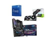 MSI GeForce RTX 3080 Ti SUPRIM X 12GB Graphics Card + Z590 GAMING EDGE WIFI Motherboard + Intel Core i7 11700K Processor Bundle