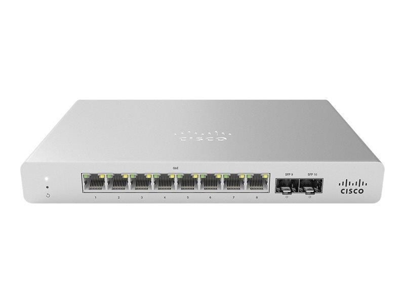 Cisco Meraki Cloud Managed MS120-8 - Switch - 8 Ports - Managed