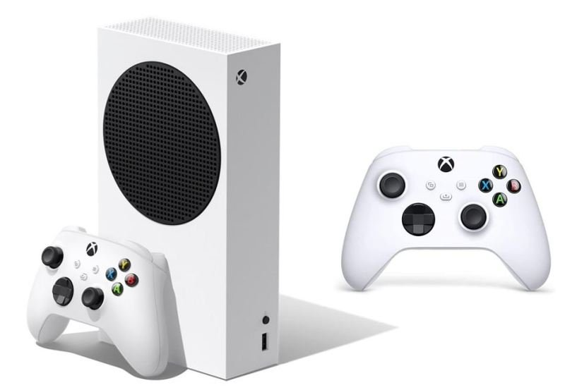 Image of Xbox Series S Console With Extra White Controller