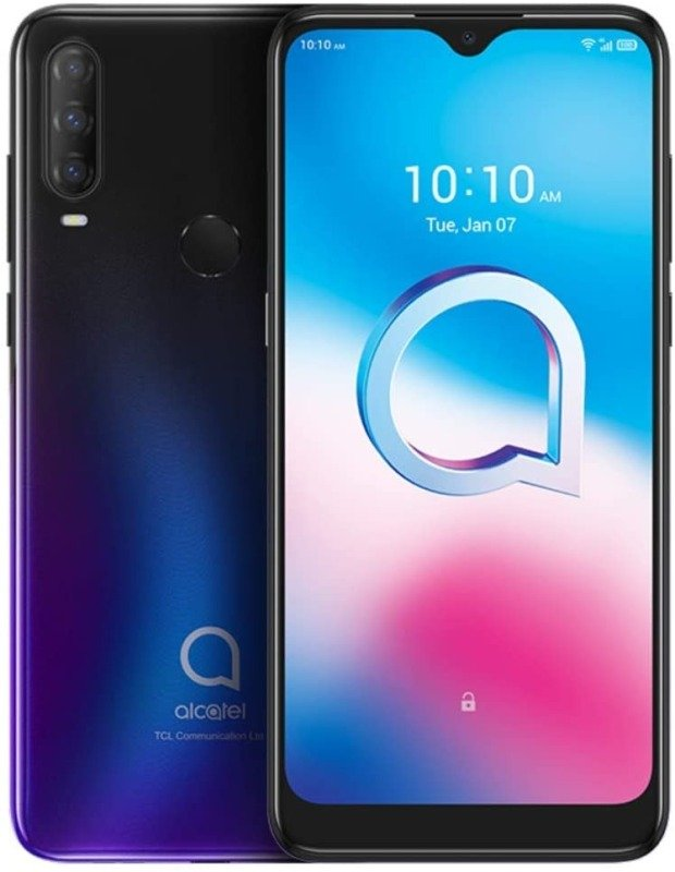 "Alcatel 3L 2020 6.22"" 64GB Smartphone - Chameleon Blue"