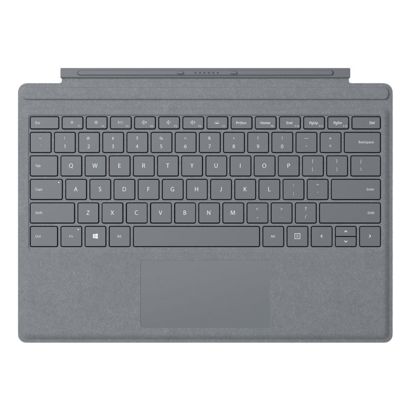 EXDISPLAY Microsoft Surface Go Type Cover Light Charcoal