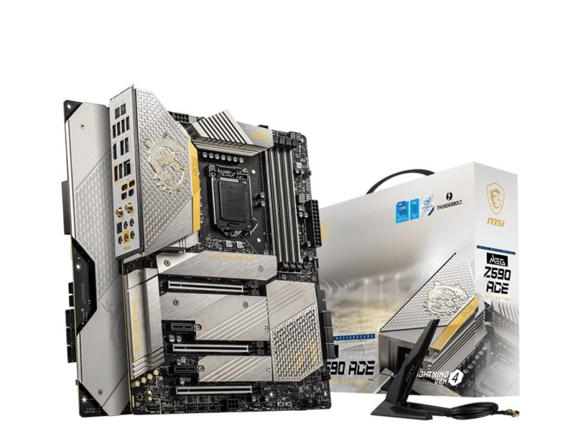 MSI Intel MEG Z590 ACE Gold Edition ATX Motherboard