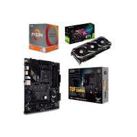 ASUS RTX 3060 12GB ROG Strix OC Graphics Card + TUF GAMING B550-PLUS B550 Motherboard + AMD Ryzen 9 3900X Processor Bundle