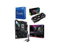 ASUS RTX 3060 12GB ROG STRIX OC V2 Graphics Card + ROG STRIX Z590-F GAMING WIFI Motherboard + Intel Core i7 11700K Processor Bundle