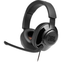 JBL Quantum 200 Lifestyle-Wired Over-Ear Gaming Headset Black