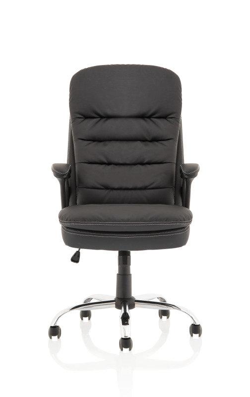 Ontario Black PU Chair