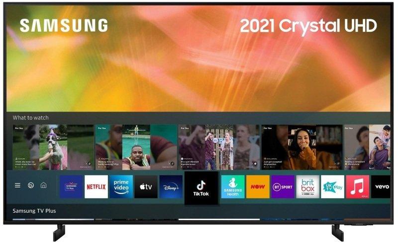 "Samsung UE43AU8072 43"" 4K Ultra HD HDR Smart TV   Ebuyer.com"