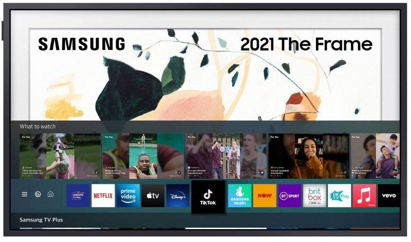 "Image of Samsung QE43LS03A The Frame 43"" Smart QLED TV"